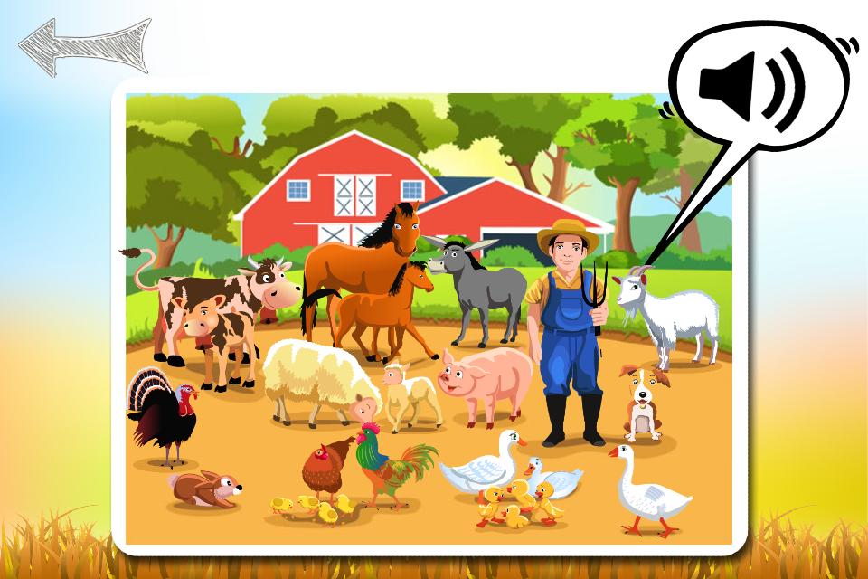 声音游戏农场动物