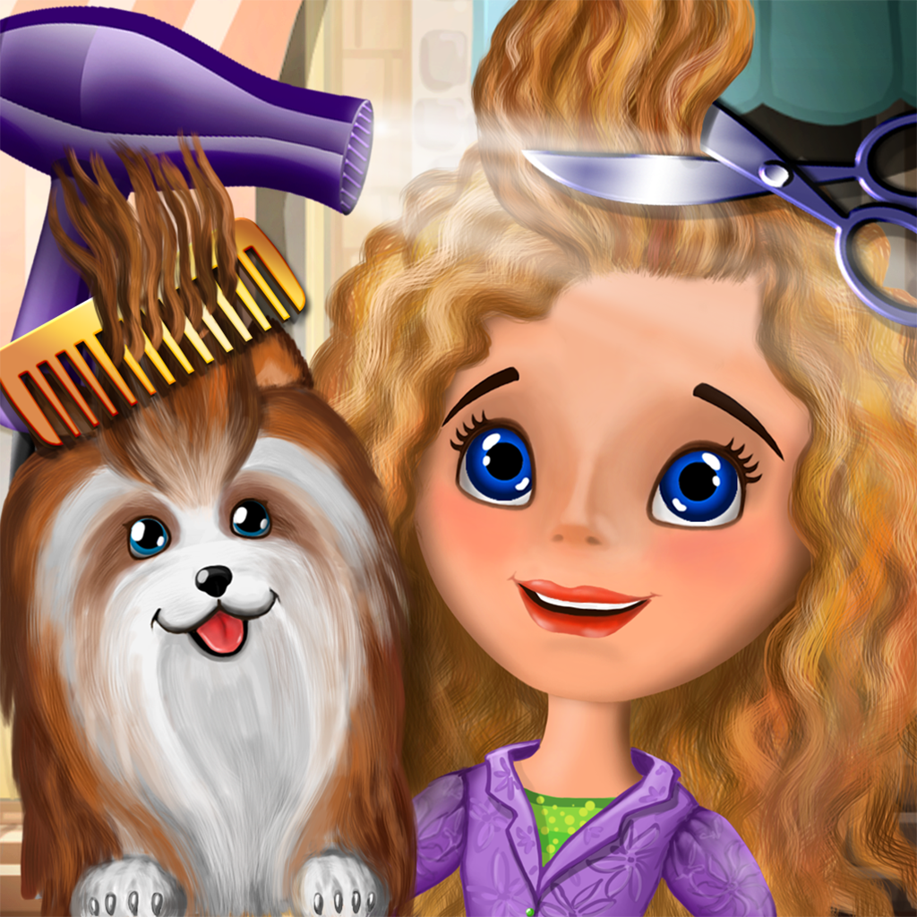 klippa hår spel